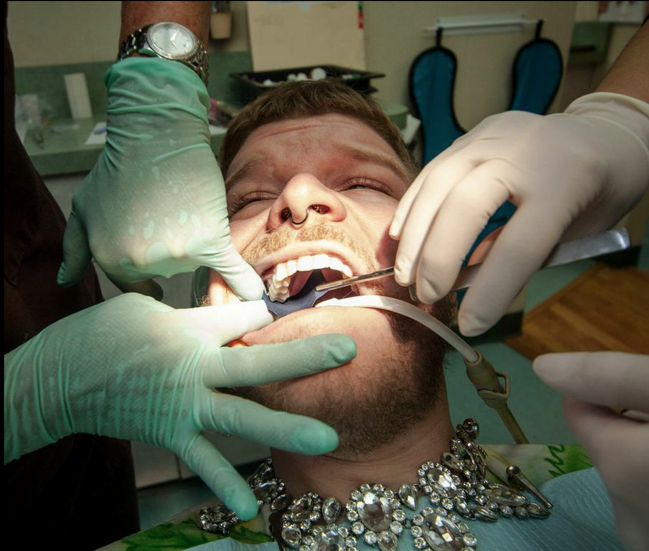 Dental fetish picture