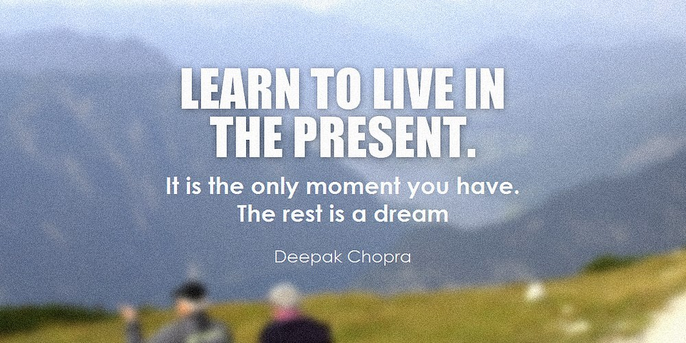 5. Start Living in the Present