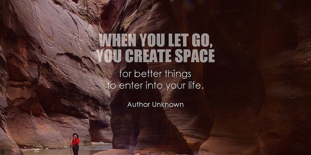 2. De-clutter Your Space