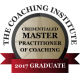 Credentialed Master Practitioner of Coaching badge