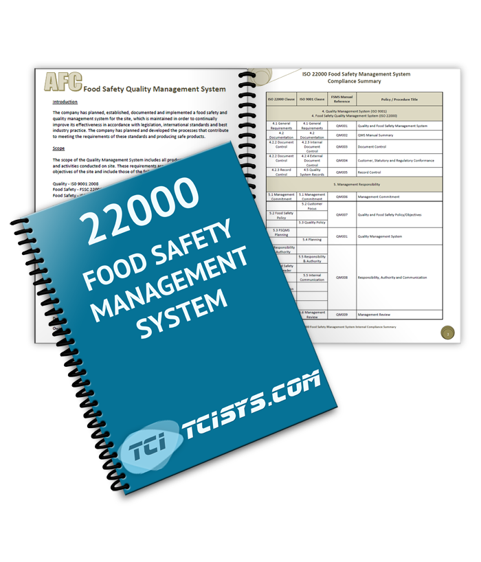 food safety system Food safety management system a food safety management system is a system that is developed and implemented by food establishment operators to ensure that food handling practices know to contribute to foodborne illness are in control.