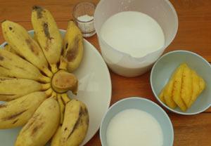 Banana-Coconut-Dessert-Ingredients