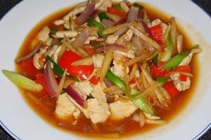 Chicken-With-Ginger-Recipe