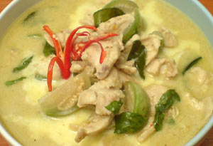 Green-Chicken-Curry-Class