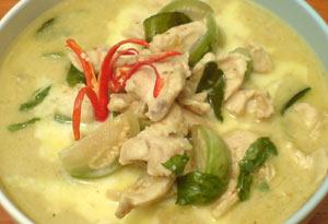 Green-Chicken-Curry-Class