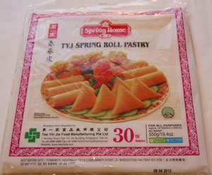 Spring-Roll-Pastry