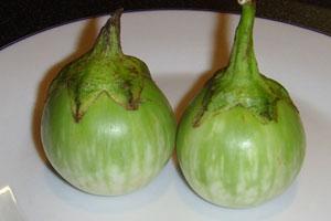 Thai food, Makuea Kraow, Eggplant