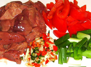 chicken-liver-sweet-chilli-ingredients