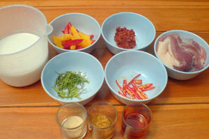 crispy-duck-red-curry-ingredients