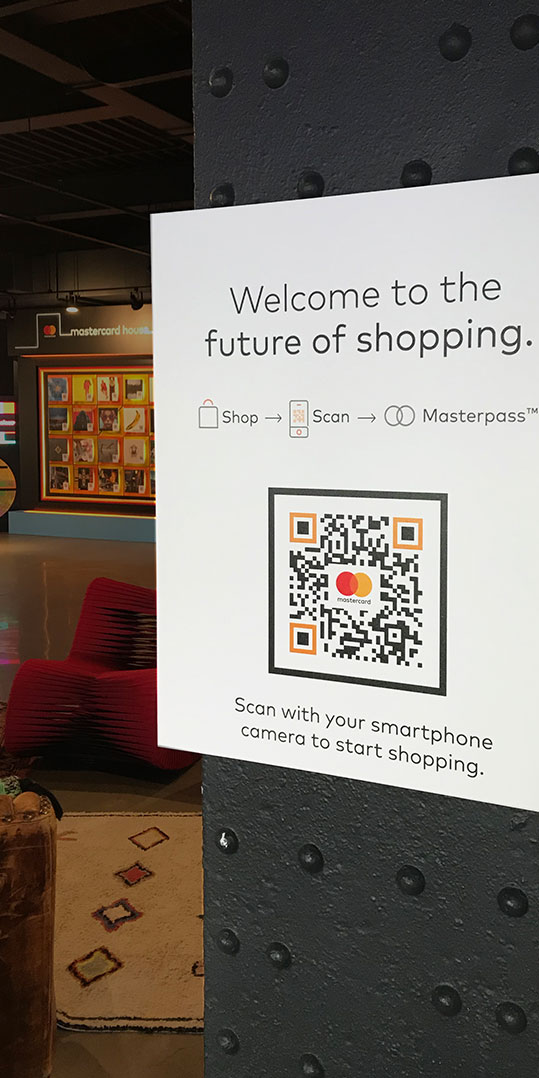 0eff00dff34ae ... in-store and digital shopping, allowing customers to scan records and  apparel with their smartphone camera to add them to their virtual shopping  cart.