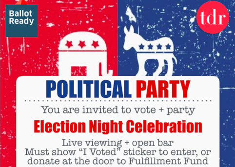Tdr ballotready election night party