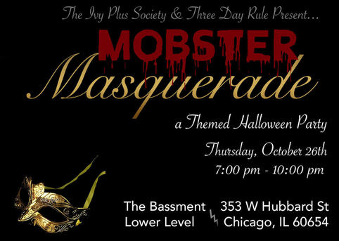 Chicago halloween mobster masquerade 2017