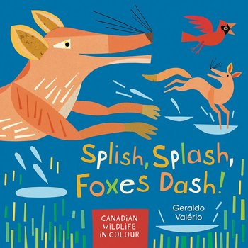 Splish, Splash, Foxes Dash! Canadian Wildlife in Colour