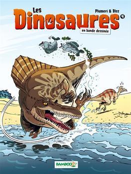 Les dinosaures en bande dessinée (tome4)