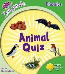 Oxford Reading Tree: Stage 2: More Songbirds Phonics: Animal Quiz