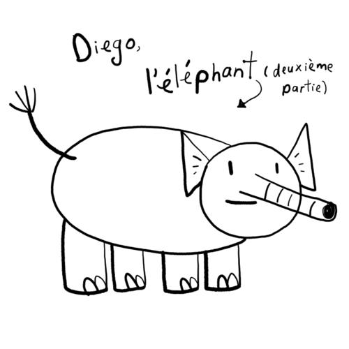Diego, l'éléphant