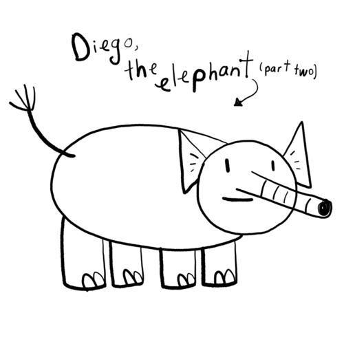 Diego the Elephant