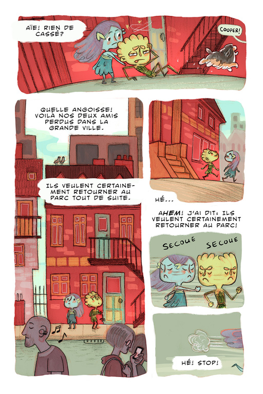 Bande dessinée Web