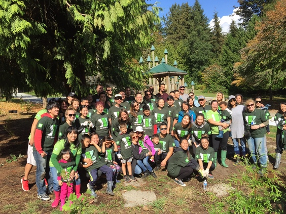 Td tree days 2016 stanley park