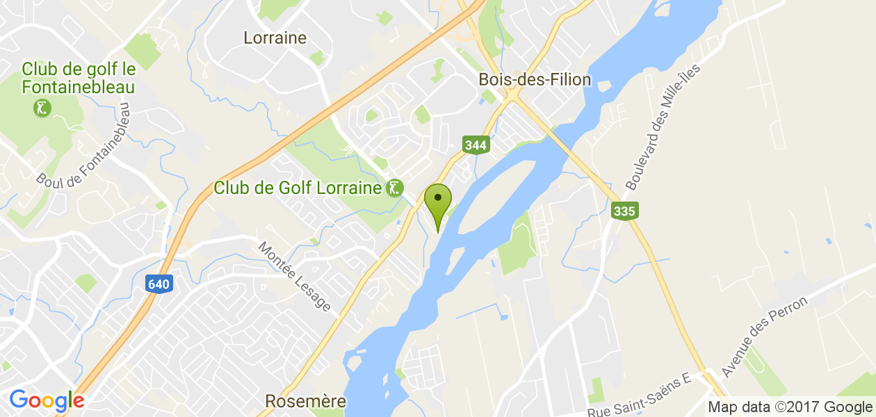 Rive Rivière des Mille Îles