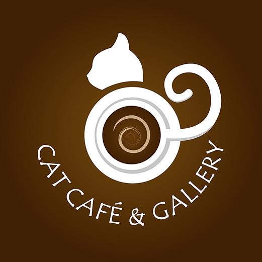 Cat cafe budapest logo