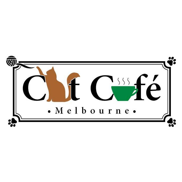 Cat cafe melbourne logo