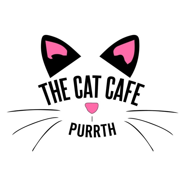 Cat cafe perth logo