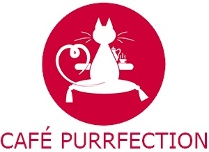 Cafe purrfection logo
