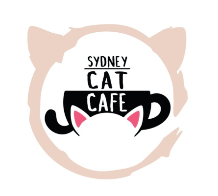 Sydney cat cafe logo