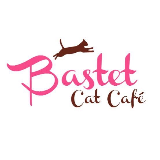 Bastet cat cafe logo