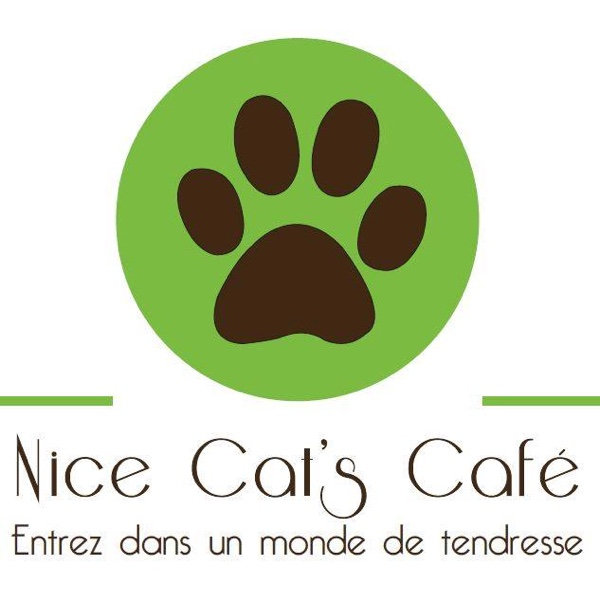 Nice cats cafe logo