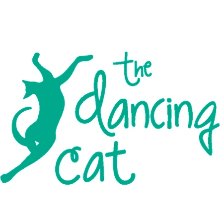 The dancing cat logo
