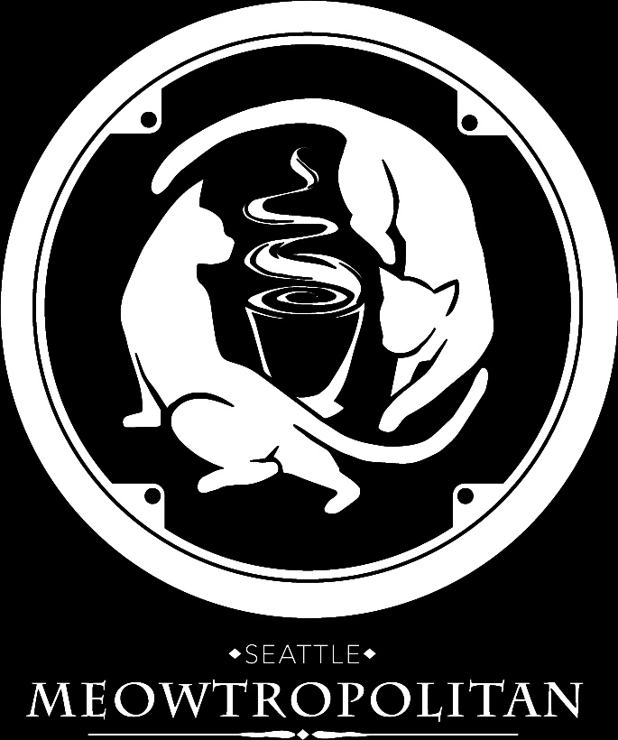 Seattle meowtropolitan logo