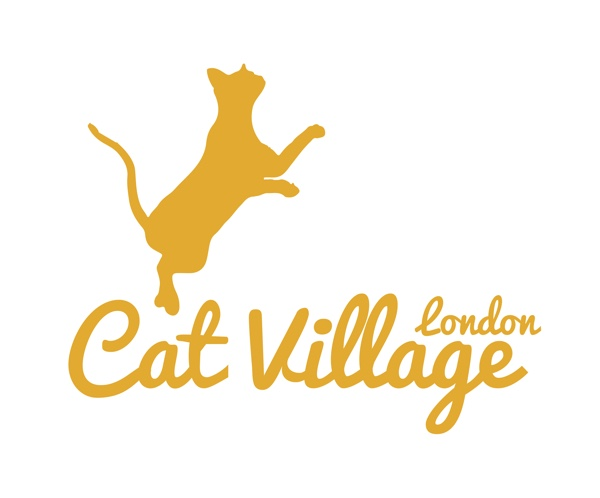 London cat village logo