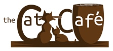The cat cafe logo