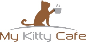 My kitty cafe logo