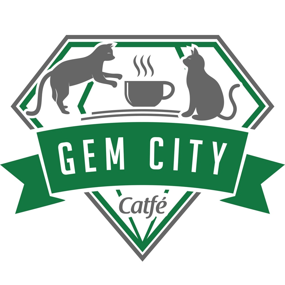 Gem city catfe logo