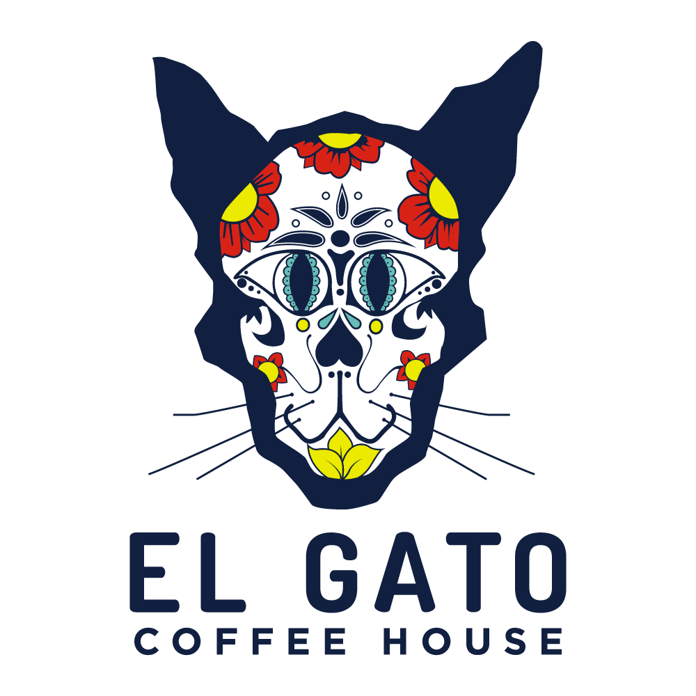 El gato coffeehouse logo