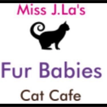 Miss j las fur babies cat cafe logo