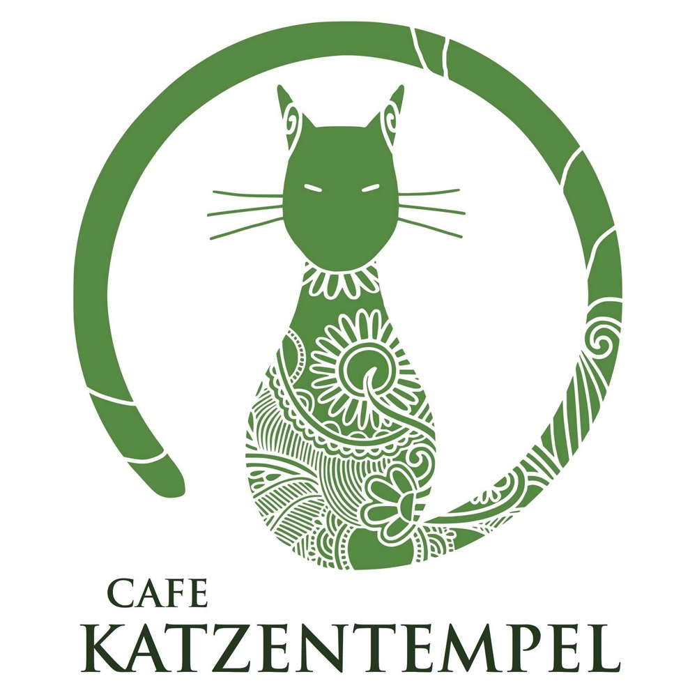 Cafe katzentempel germany logo