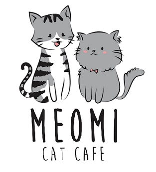 Meomi cat cafe logo