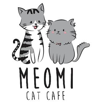 Meomi cat cafe logo