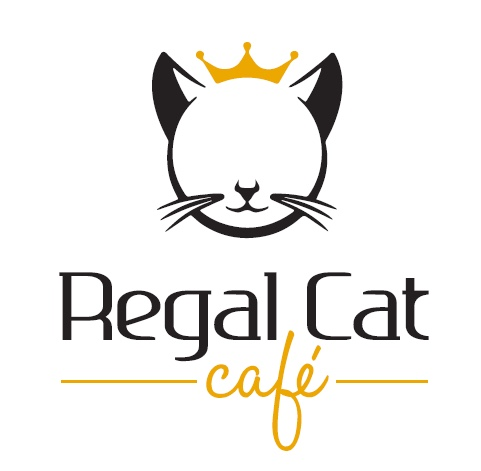 Regal cat cafe logo