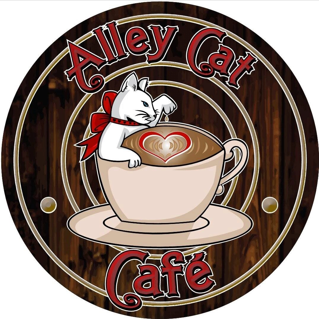 Alley cat cafe logo