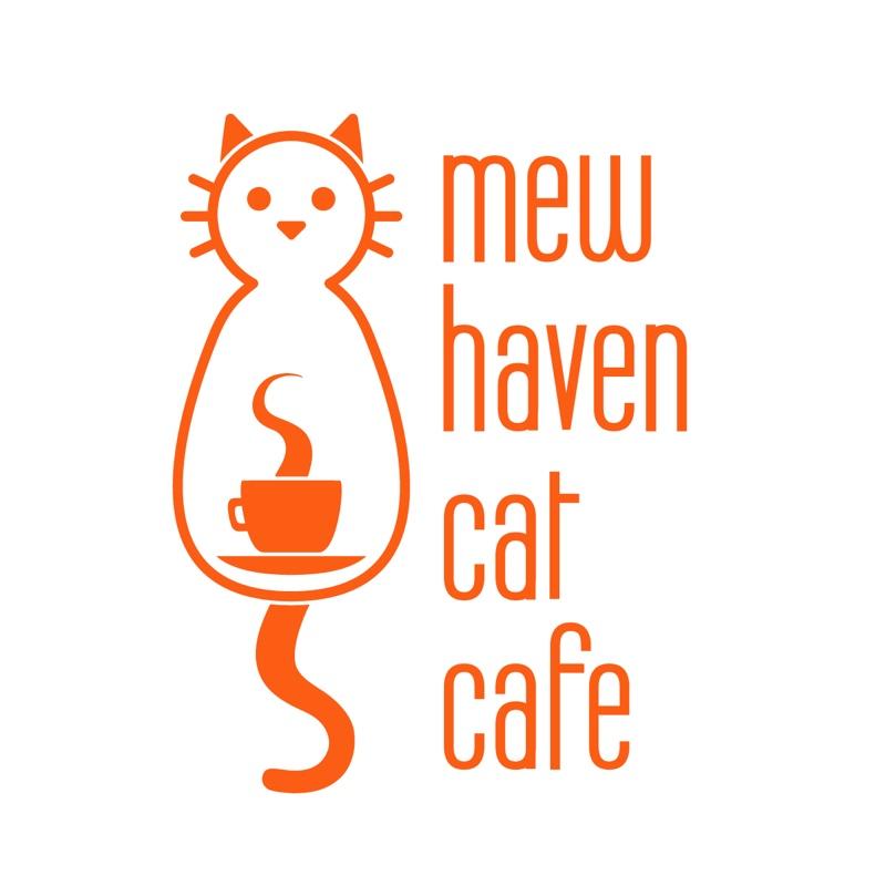 Mew haven cat cafe logo