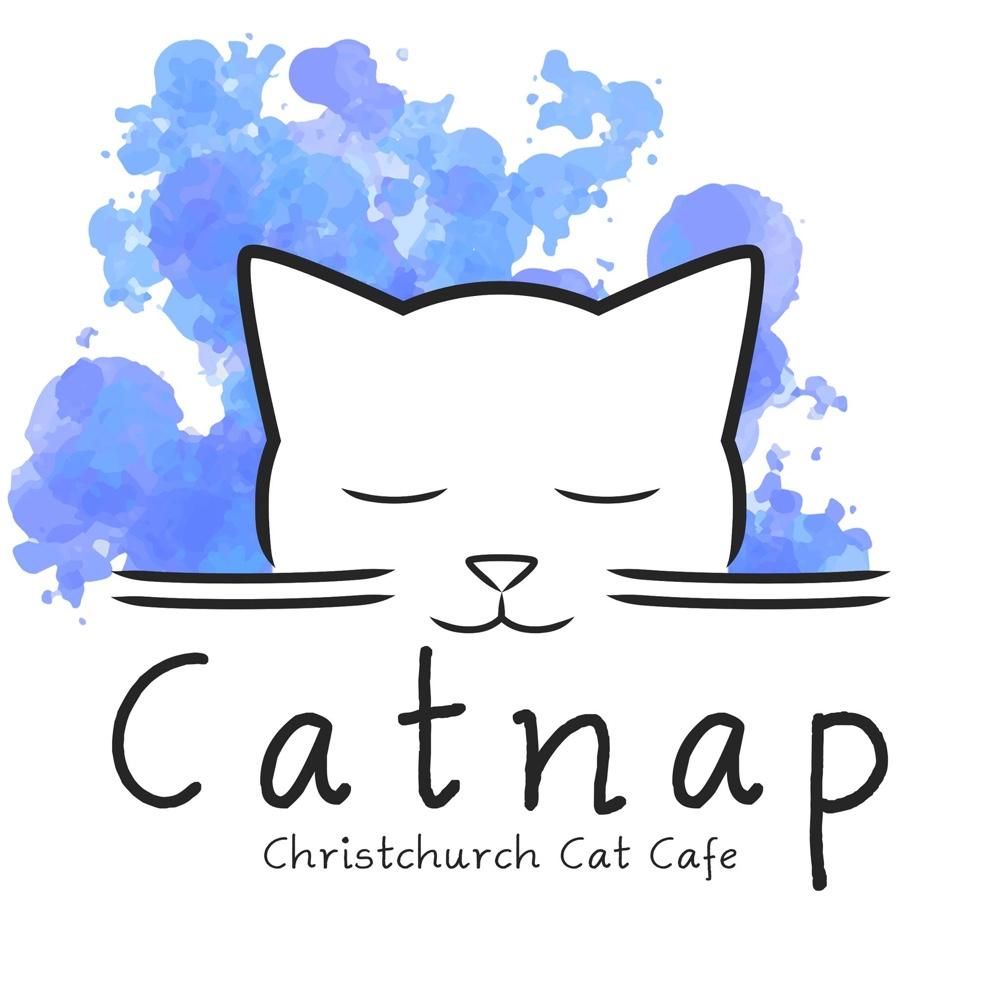 Catnap cat cafe logo