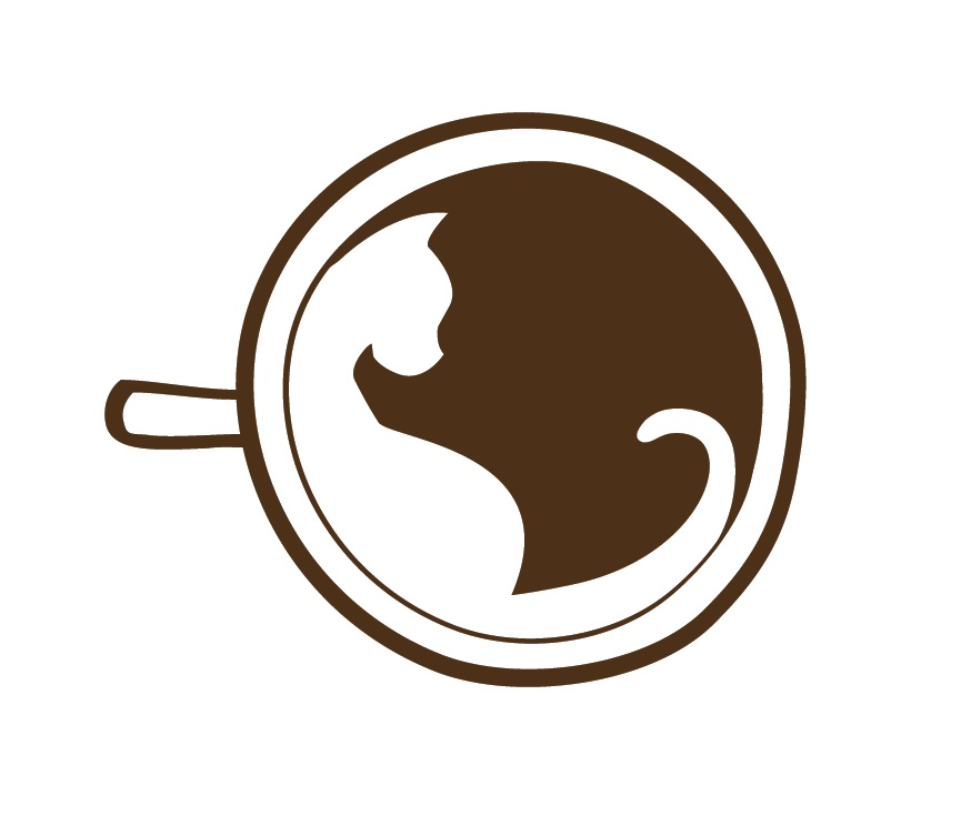 The cafe meow logo