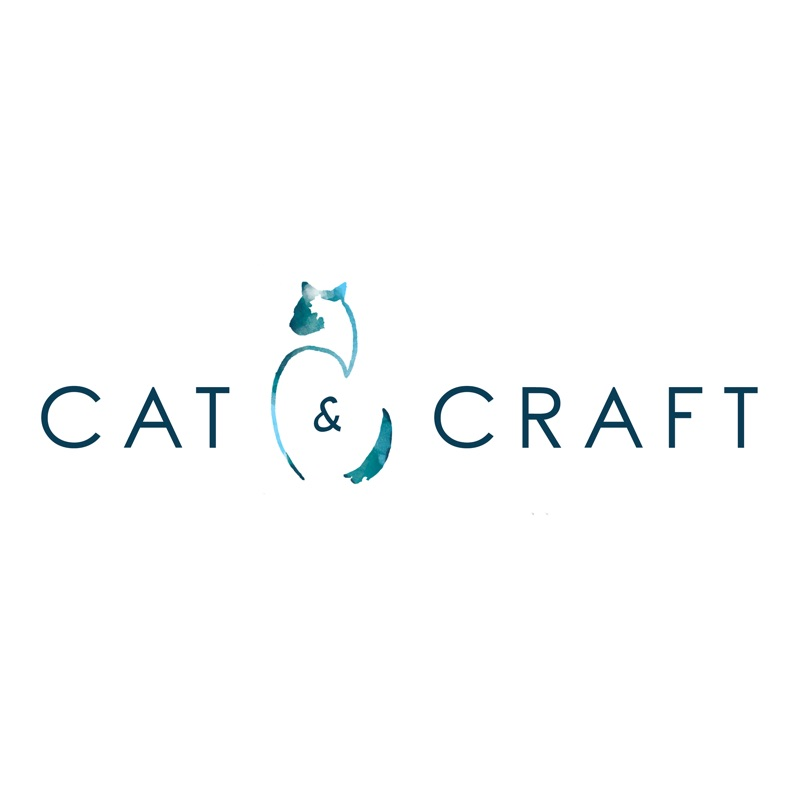 Cat and craft logo