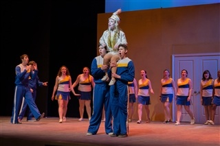 """urinetown essay Entertainment review: """"expelled vs urinetown"""" by eric bermingham  this past weekend i viewed two productions which were closely related, but coming from opposite ends of the spectrum the first was expelled – no intelligence allowed, and the secon."""