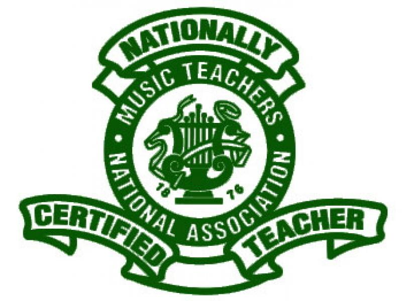 Roanoke Valley Music Teachers Association National Certification